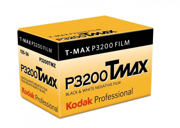 Kodak Professional T-MAX  P3200 - film alb-negru negativ ingust , ISO 3200, 135mm , 36 pozitii 0