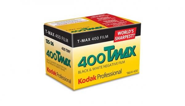 Kodak Professional TMAX 400 , film alb-negru negativ ingust  , ISO 400, 135mm , 36 pozitii 0