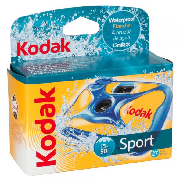 Kodak Sport Waterproof - aparat foto de unica folosinta 27 cadre color ISO800 -Subacvatic 0