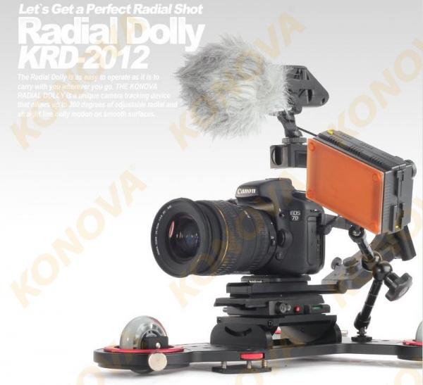 KONOVA SPACESHIP RADIAL SKATER DOLLY LASER GUIDED KRD-2012  0