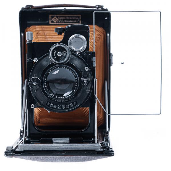 KW Patent Etui de Lux 9x12cm Tessar4,5/135mm 2