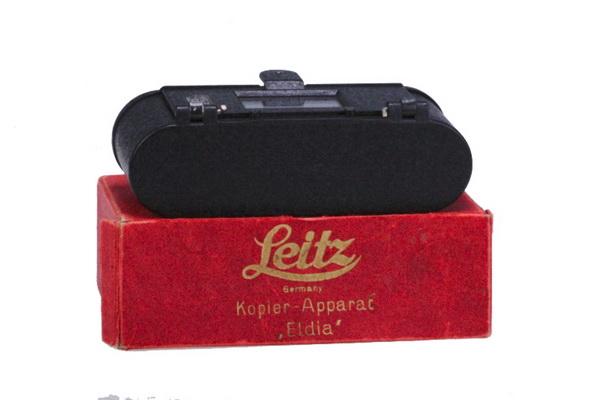 Leica Eldia + cutie - dispozitiv de copiat film (S.H.) [3]