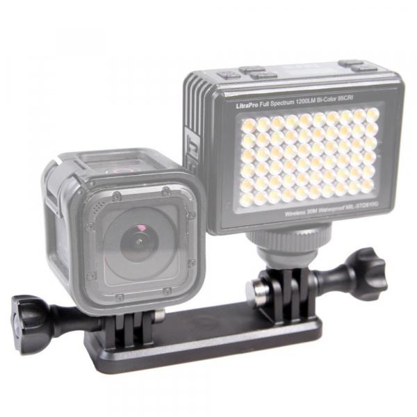 Litra Double Mount - suport dublu pentru lampile LED Litra Torch sau Litra Pro 0