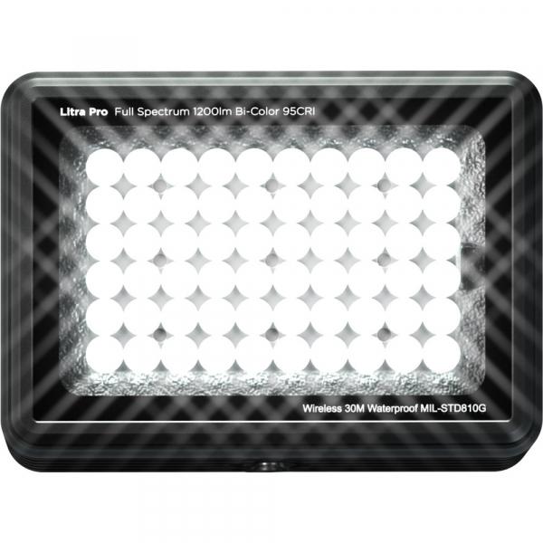 Litra Pro Bi-Color 95CRI - lampa LED rezistenta la apa, 1200 LUMENI 0