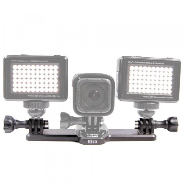 Litra Triple Mount - suport triplu pentru lampile LED  Litra Torch sau Litra Pro 0
