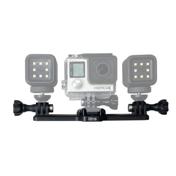 Litra Triple Mount - suport triplu pentru lampile LED  Litra Torch sau Litra Pro 1