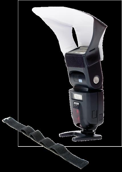 LumiQuest Pocket Bouncer (LQ-101s) - bounce diffuser cu UltraStrap [0]
