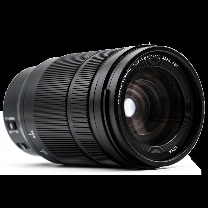 LUMIX G LEICA DG VARIO-ELMARIT 50-200mm F2.8-4.0 Obiectiv Profesional Mirrorless Asferic - Second Hand [3]