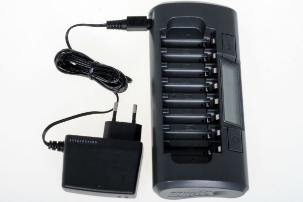 Maha MH-C800S Incarcator pentru 8 acumulatori (0.5A si 1A) [2]