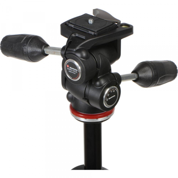 Manfrotto 290 XTRA3-3W , kit trepied foto cu cap 3 way 3