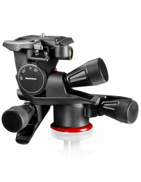 Manfrotto MHXPRO Geared - 3 WG - cap foto micrometric 2