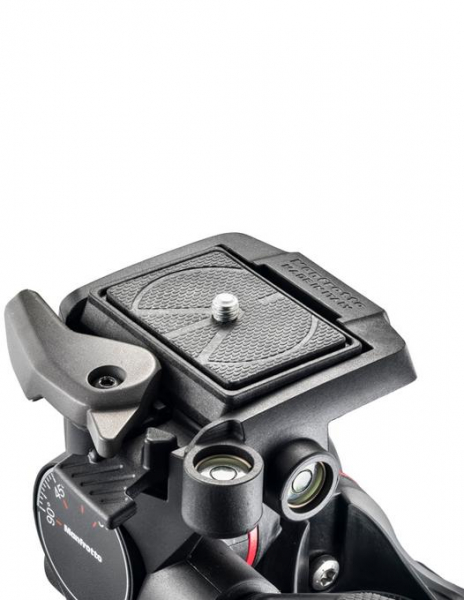 Manfrotto MHXPRO Geared - 3 WG - cap foto micrometric [3]