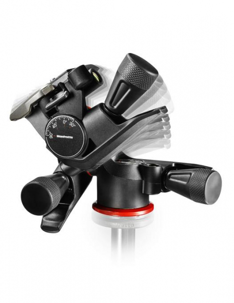 Manfrotto MHXPRO Geared - 3 WG - cap foto micrometric 1