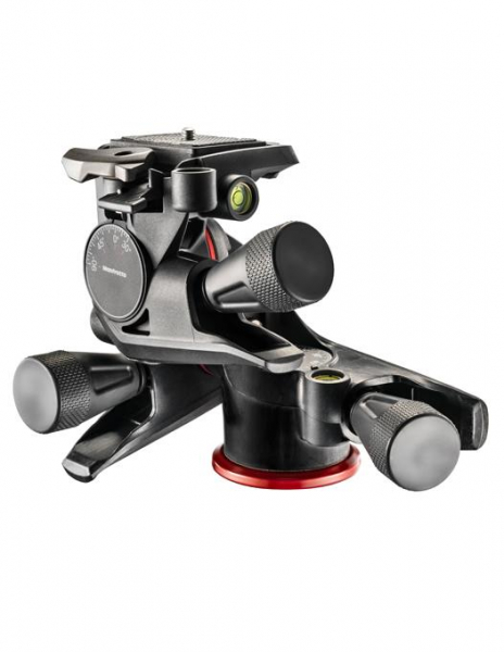 Manfrotto MHXPRO Geared - 3 WG - cap foto micrometric [0]