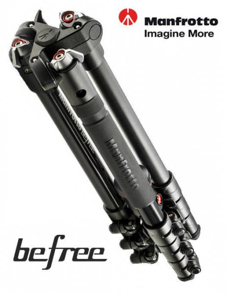 Manfrotto MKBFRA4-BH Befree negru - kit trepied foto cu  cap bila [1]