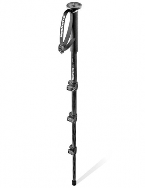 Manfrotto MM294C4 -  monopied foto profesional din carbon [0]
