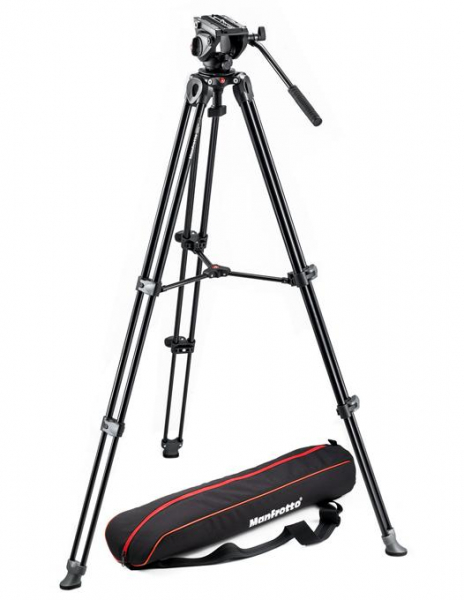 Manfrotto MVK500AM - kit trepied video + cap video MVH500A 0