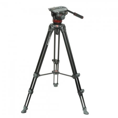 Manfrotto MVK502AM - Kit trepied video+ cap video MVA502A  0