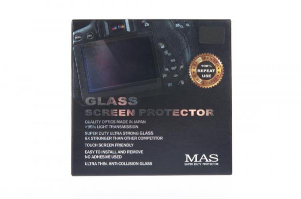 MAS ecran protectie sticla LCD - pentru Canon 7D Mark II, 6D Mark II, 70D, 80D, 90D, 77D, 800D 0