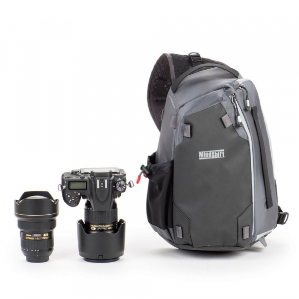 MindShiftGear PhotoCross 10 - Carbon Grey - rucsac cu o singura bretea 1