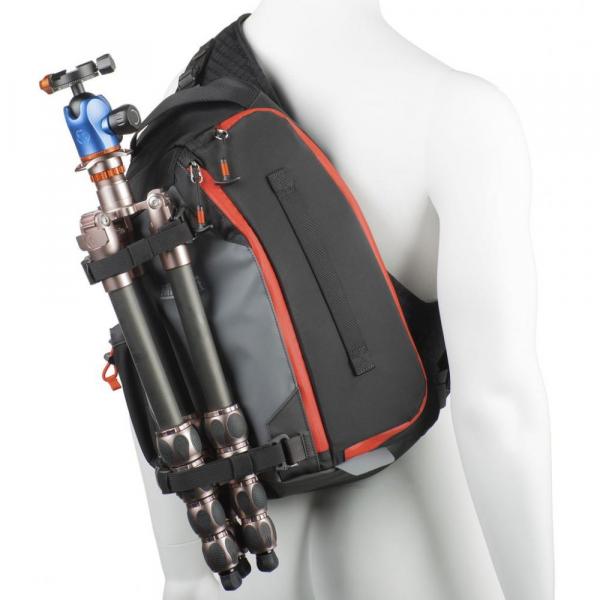 MindShiftGear PhotoCross 10 - Carbon Grey - rucsac cu o singura bretea 6