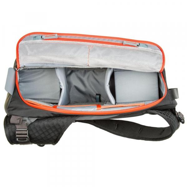 MindShiftGear PhotoCross 10 - Carbon Grey - rucsac cu o singura bretea 9