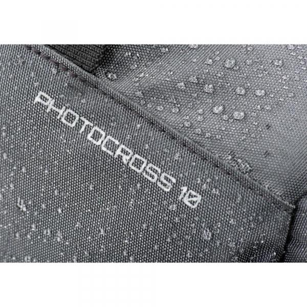 MindShiftGear PhotoCross 10 - Carbon Grey - rucsac cu o singura bretea 3