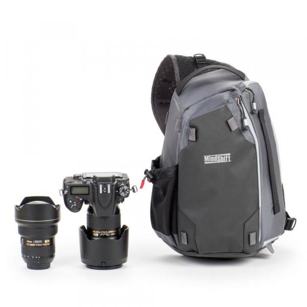 MindShiftGear PhotoCross 13 - Carbon Grey - rucsac cu o singura bretea [1]