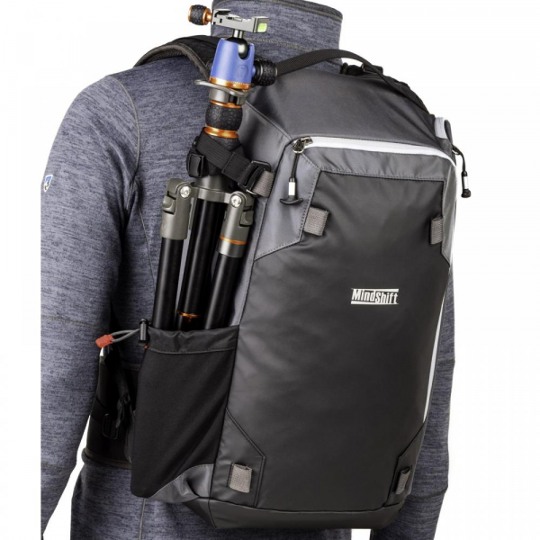 MindShiftGear PhotoCross 15 Backpack - Carbon Grey - rucsac foto 9