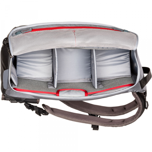 MindShiftGear PhotoCross 15 Backpack - Carbon Grey - rucsac foto [4]