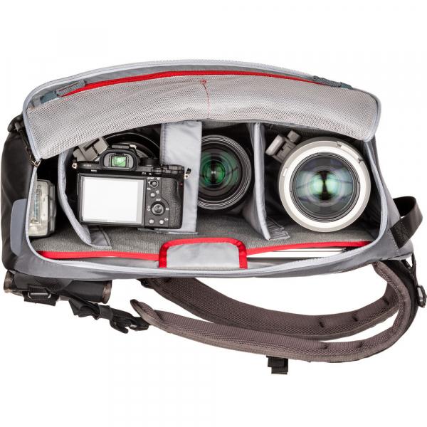 MindShiftGear PhotoCross 15 Backpack - Carbon Grey - rucsac foto [7]