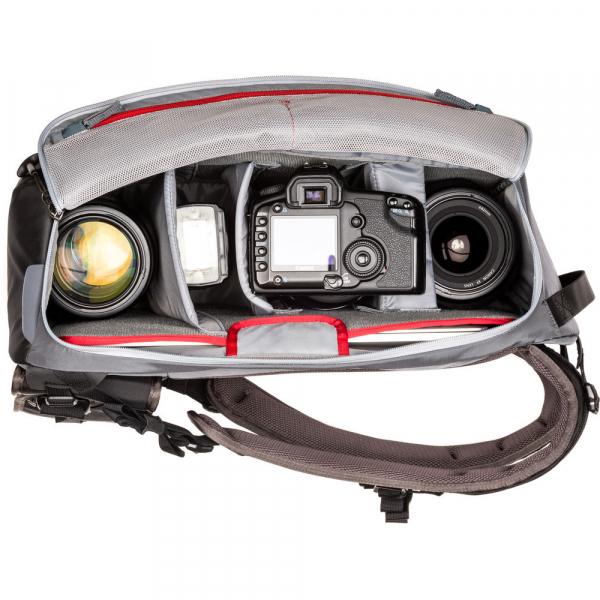 MindShiftGear PhotoCross 15 Backpack - Carbon Grey - rucsac foto [5]