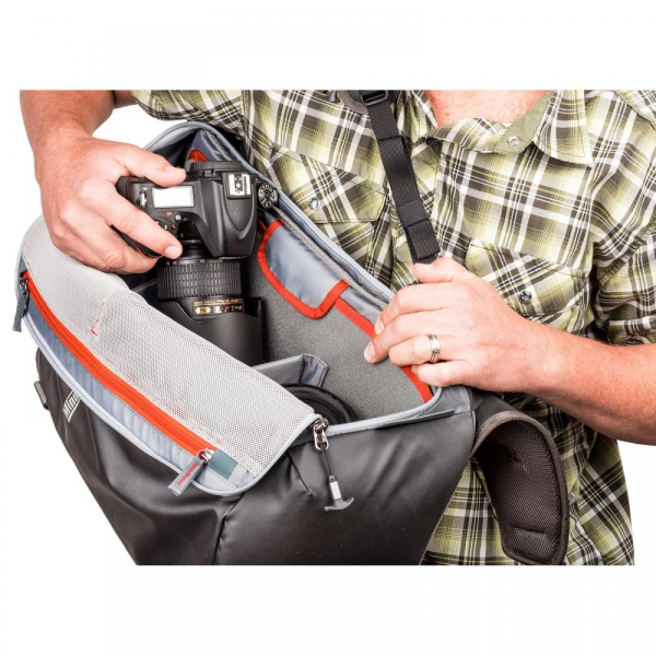 MindShiftGear PhotoCross 15 Backpack - Orange Ember - rucsac foto 8