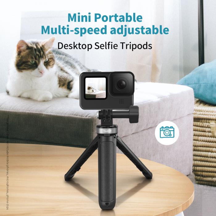 Mini trepied cu selfie stick pentru camere de actiune Gopro - GP-MNP-092-X [0]