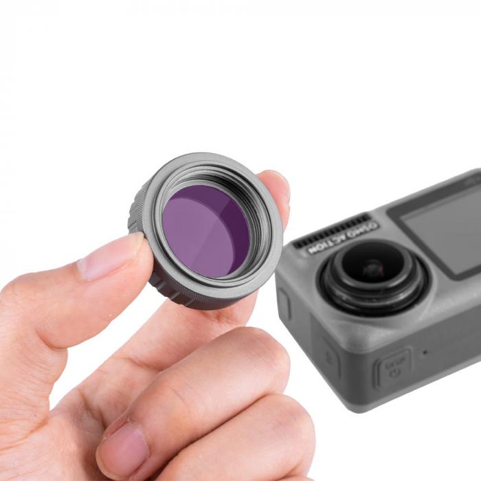 Set de filtre pentru DJI OSMO, pentru fotografii/ filmari subacvatice  - OS-FLT-T01 [5]