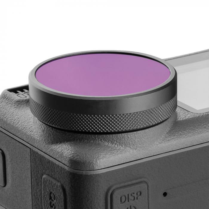 Set de filtre pentru DJI OSMO, pentru fotografii/ filmari subacvatice  - OS-FLT-T01 [4]