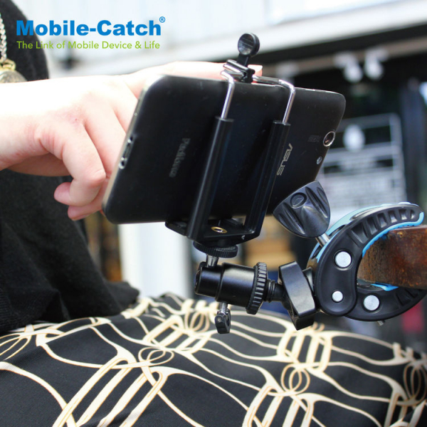 Mobile-Catch Hawk Action - clema prindere cu suport 2