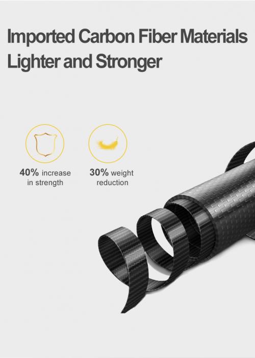 Monopod selfie din fibra de carbon 0.9M pentru Gopro - GP-MNP-90T [1]