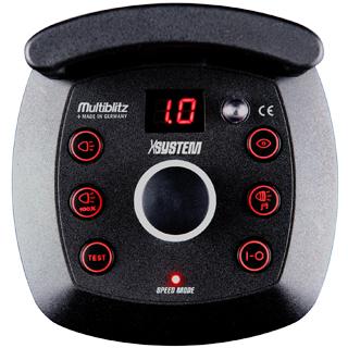 Multiblitz X10 - 1000 Ws , blitz studio montura V 1