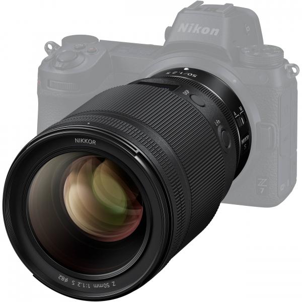 NIKKOR Z 50mm f/1.2 S Obiectiv foto mirrorless 2