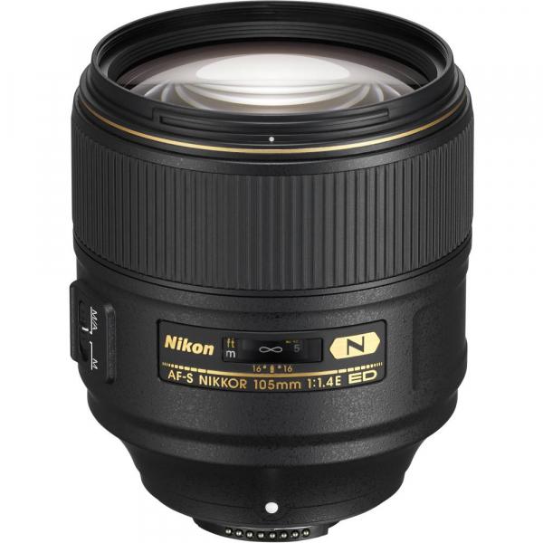 Nikon AF-S 105mm f/1.4E  ED 0