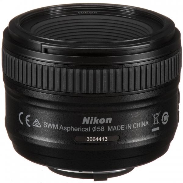 Nikon AF-S 50mm f/1.8 G 2
