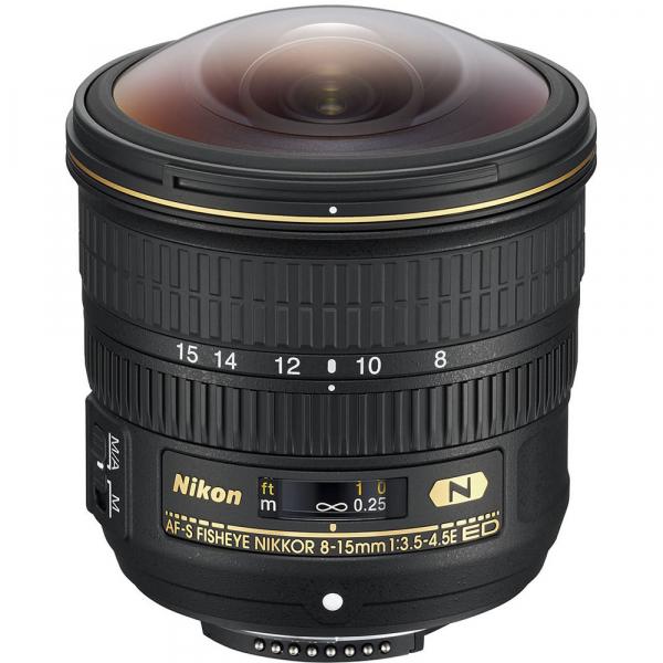 Nikon AF-S Fisheye NIKKOR 8-15mm f/3.5-4.5E ED 0