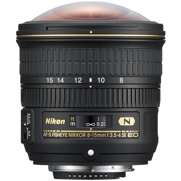 Nikon AF-S Fisheye NIKKOR 8-15mm f/3.5-4.5E ED 1