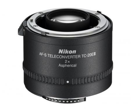 Nikon AF-S TC-20E III teleconverter 2x 0