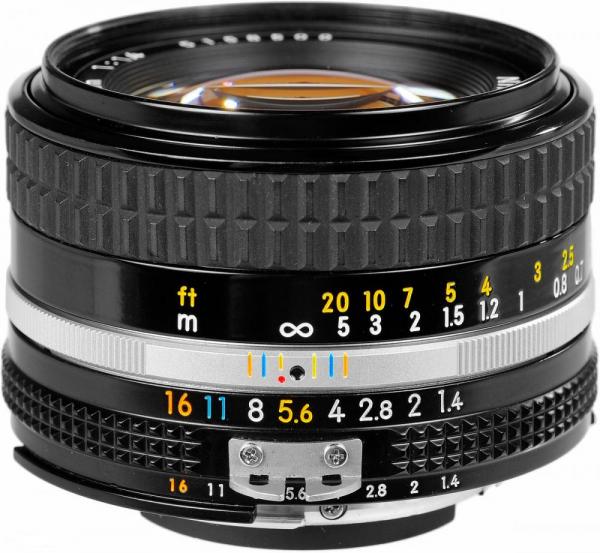 Nikon AI 50mm f/1.4 - Manual focus 0