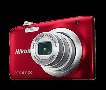 Nikon COOLPIX  A100 - rosu 0
