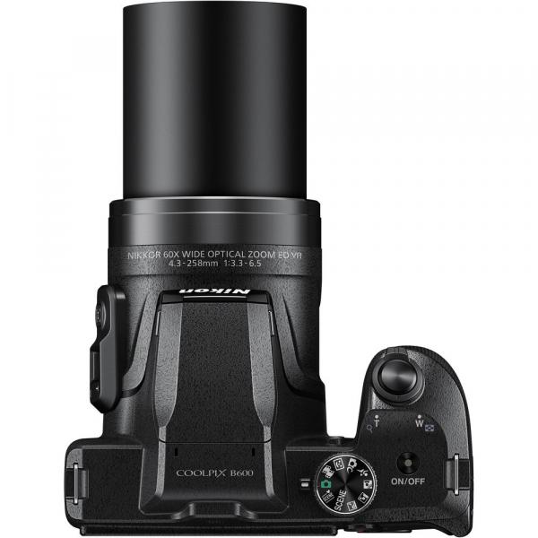 Nikon Coolpix B600 negru 4