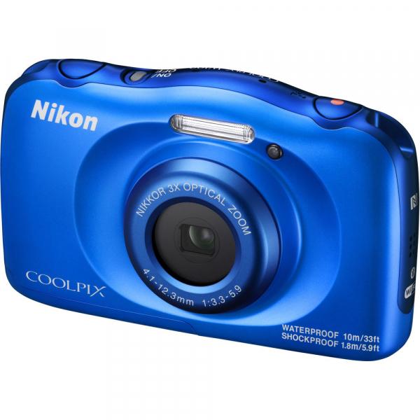 Nikon Coolpix W100 - subacvatic, filmare FHD Kit cu Rucsac -albastru 2