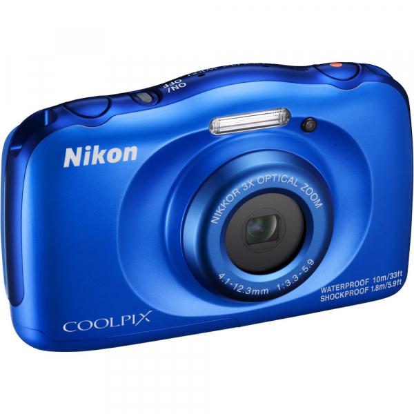 Nikon Coolpix W100 - subacvatic, filmare FHD Kit cu Rucsac -albastru 3